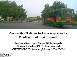 Competition Reforms in