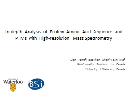 In-depth  Analysis  of  Protein  Amino  Acid  Sequence  and