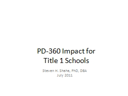 PD-360 Impact for
