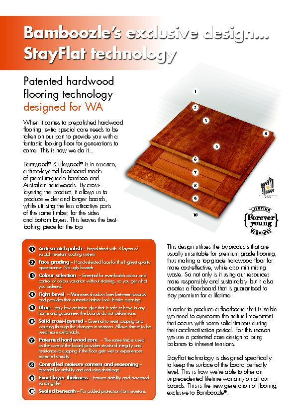 Patented hardwood designed for WAWhen it comes to prepolished hardwood