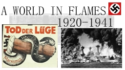 A World in flames PowerPoint PPT Presentation