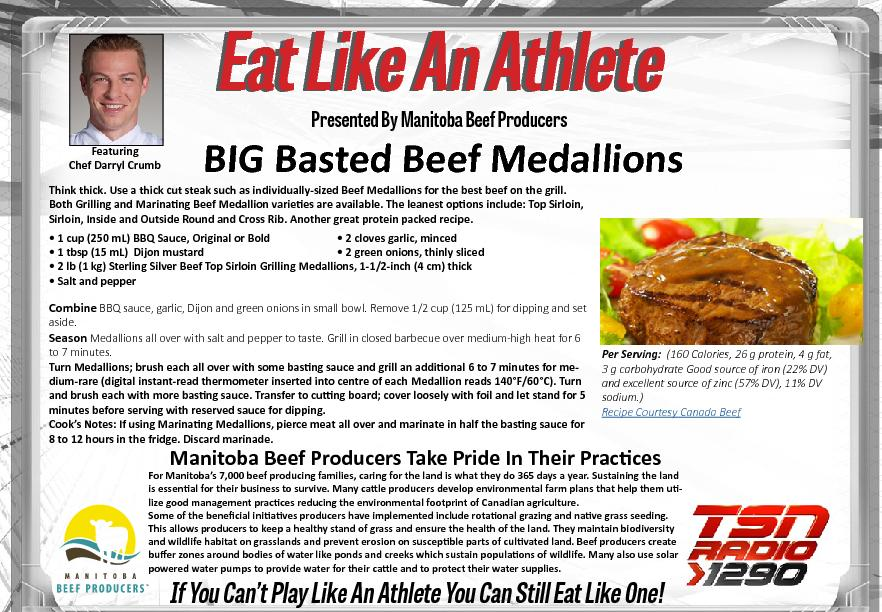 Eat Like An AthleteEat Like An AthletePresented By Manitoba Beef Produ