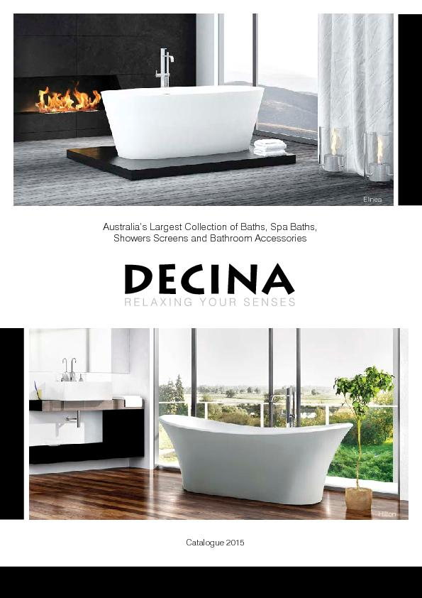 Australia's Largest Collection of Baths, Spa Baths,