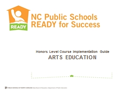 Honors Level Course Implementation Guide
