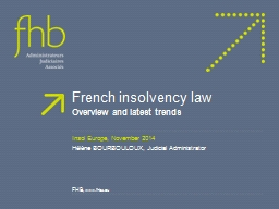 French insolvency law