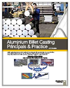 l Billet quality directly controls the quality of extrusions and affec