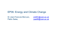 EP06: Energy and Climate Change