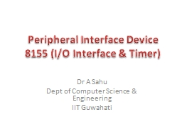 Peripheral Interface Device