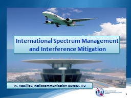 International Spectrum Management
