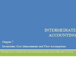 Intermediate Accounting PowerPoint PPT Presentation