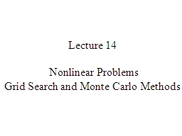 Lecture 14 PowerPoint PPT Presentation