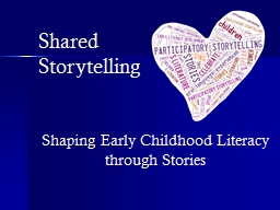 Shaping Early Childhood Literacy through Stories