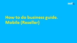 How to do business guide.