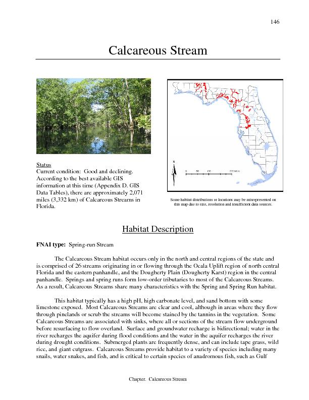 Chapter.  Calcareous Stream