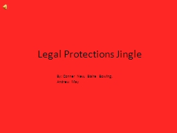 Legal Protections Jingle