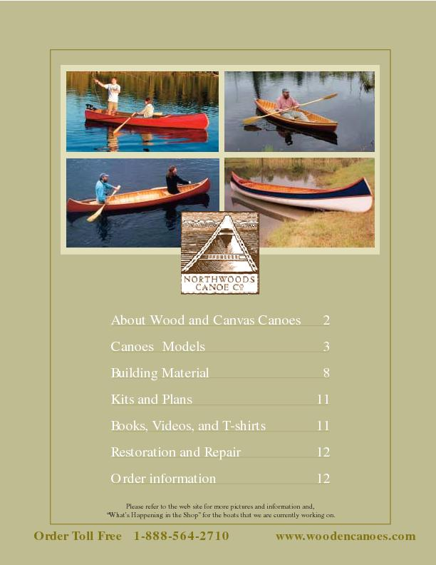 NORTHWOOD Canoes