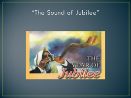 """The Sound of Jubilee"""