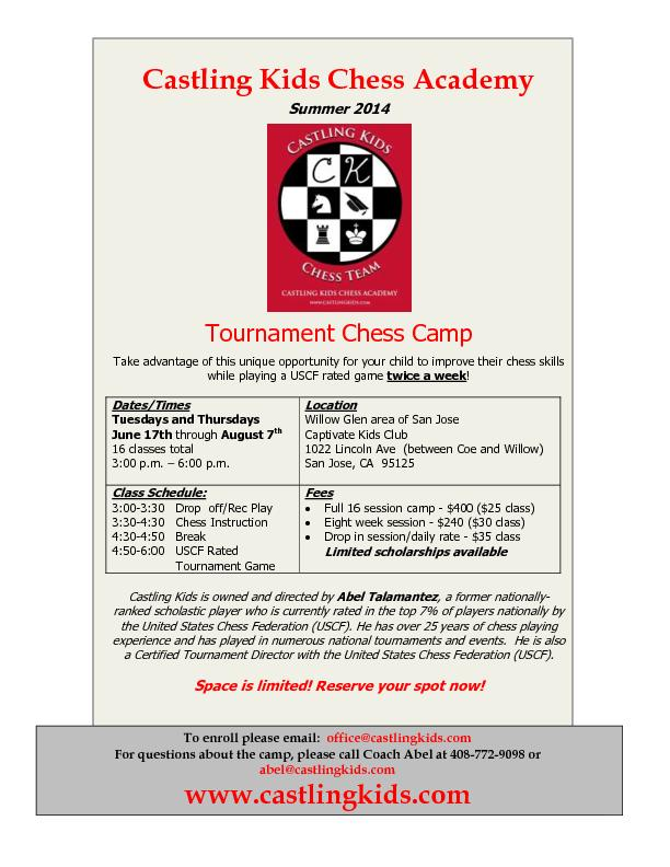 Castling Kids Chess Academy