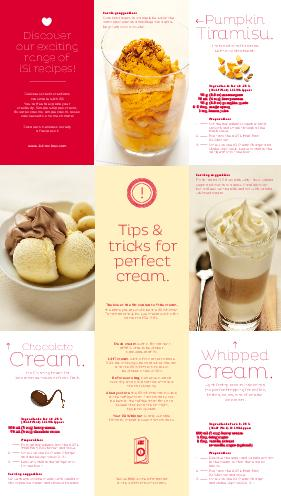 Discover our exciting range of iSi recipes Delicious cream creations are simple with iSi Youre free to explore your creativity Simple whipped cream flavored creams simple creambased cold desserts and