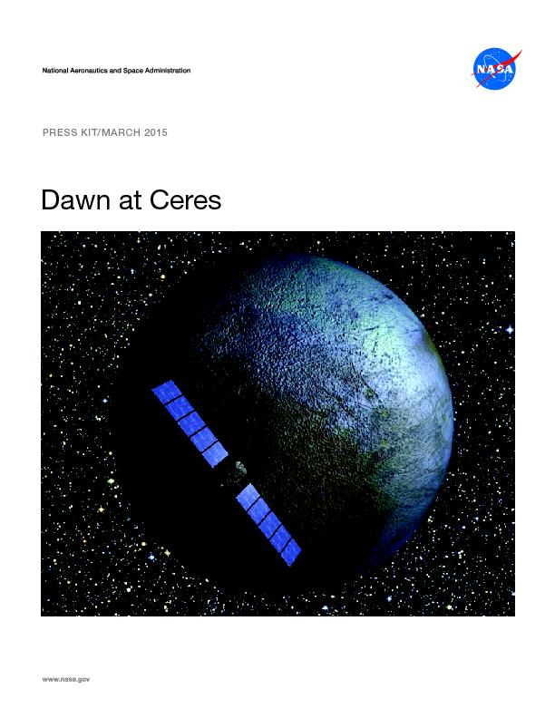 Dawn at CeresPRESS KIT/MARCH 2015
