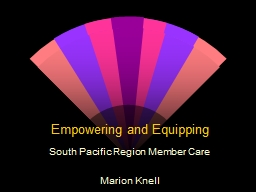 Empowering and Equipping