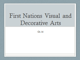 First Nations Visual and