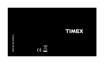 WATCHESCongratulations on purchasing your TIMEXwatch.Please read these
