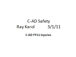 C-AD Safety