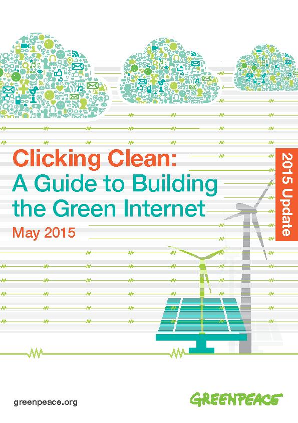 For more information contact: greeninternet@greenpeace.orgGary Cook, G