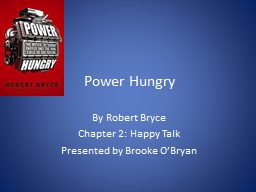 Power Hungry PowerPoint PPT Presentation