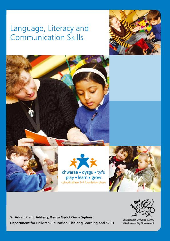 support communication language and literacy skills Chceds503a support the development of literacy skills date this document was generated: 27 may 2012  14 select resources and strategies to support language skills .