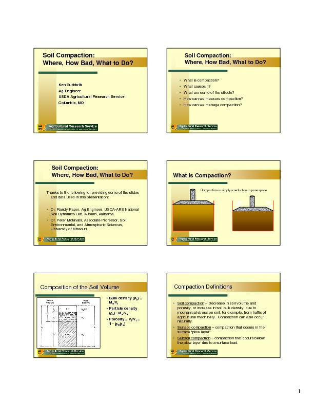 Compaction is simply a reduction in pore space PowerPoint PPT Presentation