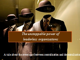 The unstoppable power of
