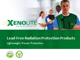 Lead-Free Radiation Protection Products