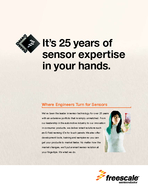Sensors Innovative Sensor Solutions  A Heritage of Sensor Innovation Sensors Overview For more than  years Freescale Semiconductors sensor products have helped make the world a safer and more interac