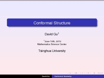 Conformal Structure