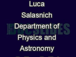 Lecture Notes on Dirac delta function Fourier transform and Laplace transform Luca Salasnich Department of Physics and Astronomy Galileo Galilei University of Padua  Contents  Dirac Delta Function  F