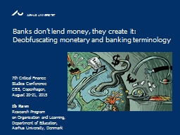 Banks PowerPoint PPT Presentation