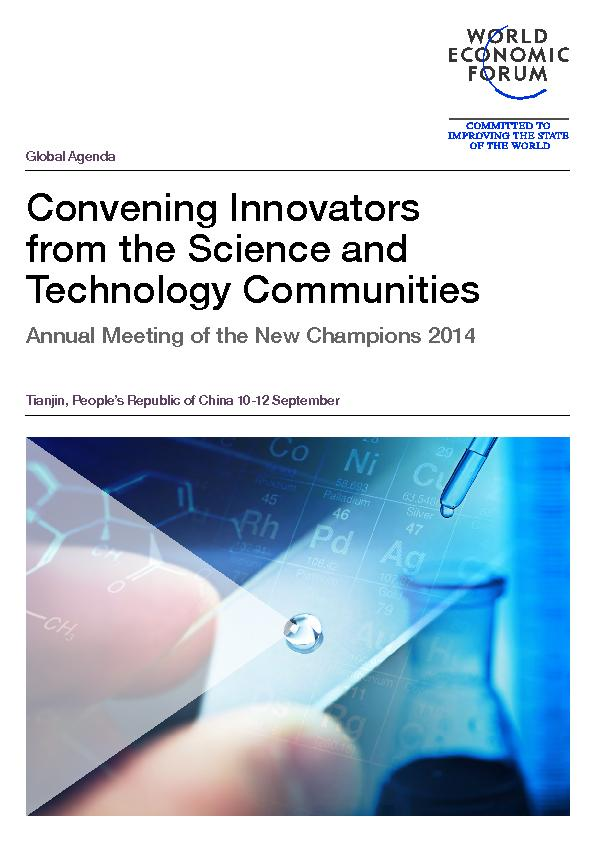 Convening innovators from the science and technology communities