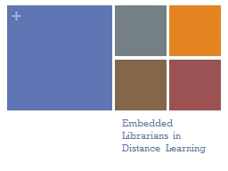 Embedded Librarians in Distance Learning