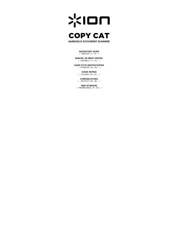 Ion copy cat PowerPoint PPT Presentation