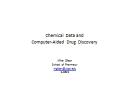 Chemical Data and
