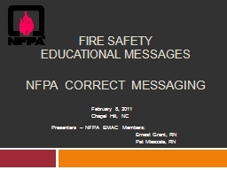 Fire Safety PowerPoint PPT Presentation