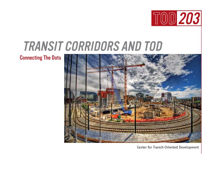 Transit corridors and tod PowerPoint PPT Presentation