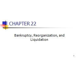 1 CHAPTER 22