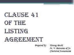 CLAUSE 41
