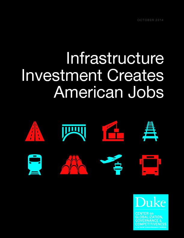 Infrastructure  investment creates american jobs