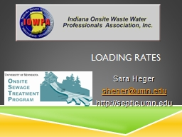 Loading Rates PowerPoint PPT Presentation