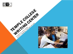 Temple College Writing Center