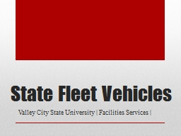 State Fleet Vehicles